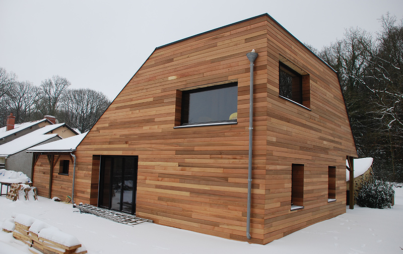 sur l vation ossature bois rennes charpentier maison habitat construction. Black Bedroom Furniture Sets. Home Design Ideas