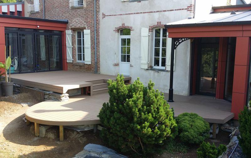 Création Terrasse Composite Rennes Pose Réalisation travaux ...