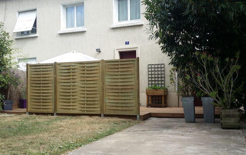 Le claustra bois est avant tout un élément décoratif de séparation  ~ Pose De Palissade Bois