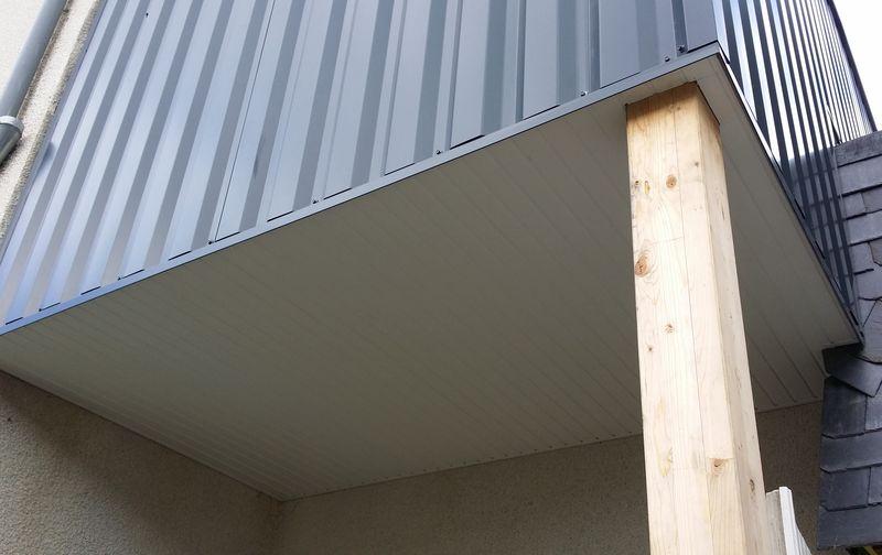 de travaux de charpente bois sur Rennes  Gueguen Construction